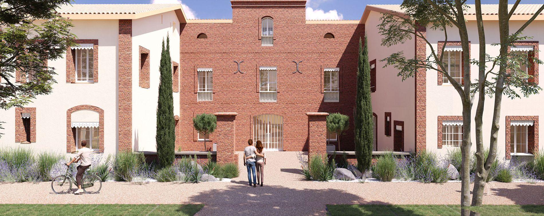 Montrabé : programme immobilier neuve « Domaine Val Rose » en Loi Pinel (3)