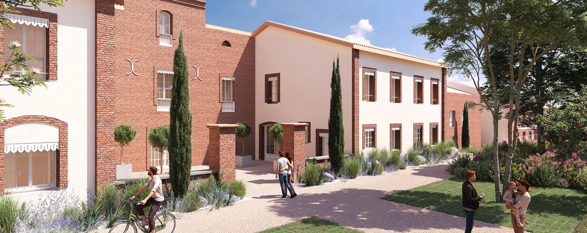 Montrabé : programme immobilier neuve « Domaine Val Rose » en Loi Pinel (4)