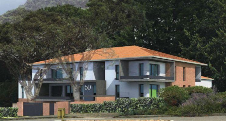 Montrabé : programme immobilier neuf « Résidence le 50 » en Loi Pinel