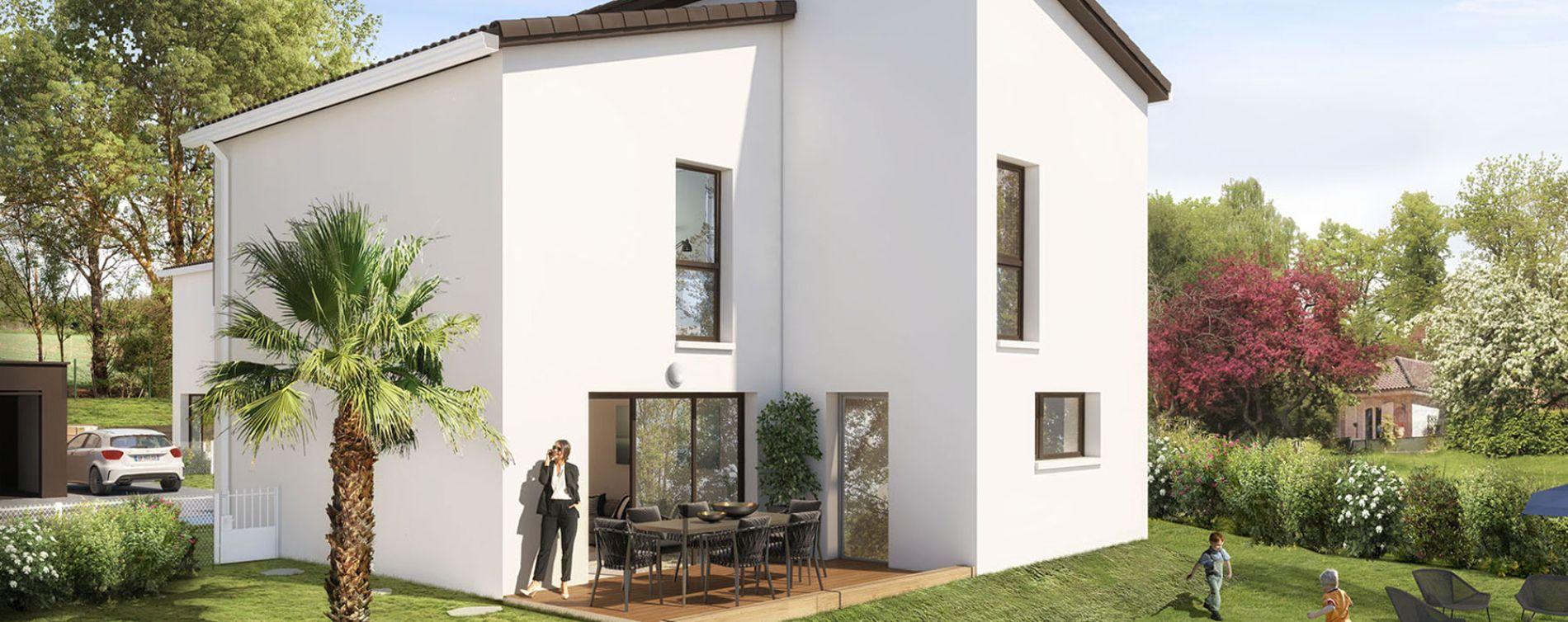 Résidence Villas Pastel à Montrabé