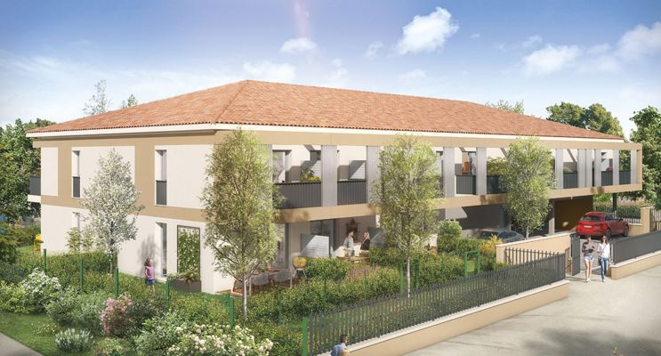 Résidence « Arc En Ciel » programme immobilier neuf en Loi Pinel à Muret n°1