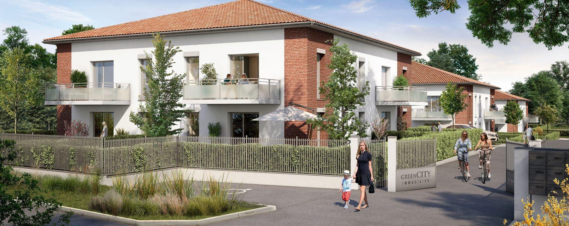 Pechbonnieu : programme immobilier neuve « Le Roncevaux » en Loi Pinel (2)