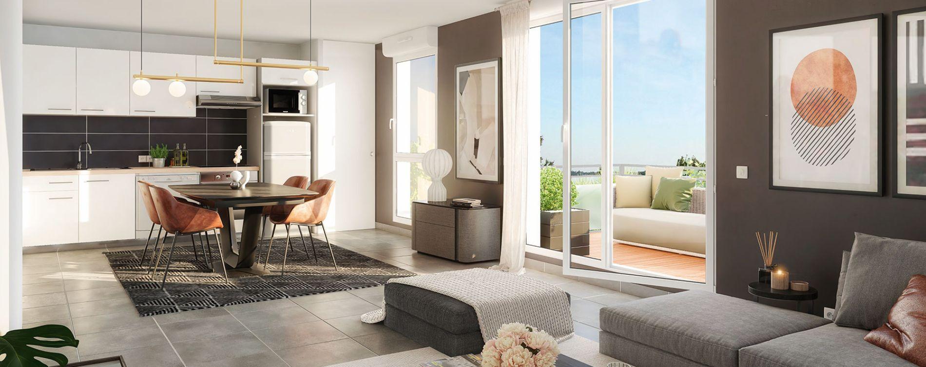Pechbonnieu : programme immobilier neuve « Le Roncevaux » en Loi Pinel (3)