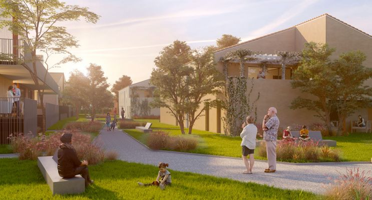 Résidence « Pibrac Parc » programme immobilier neuf en Loi Pinel à Pibrac n°2