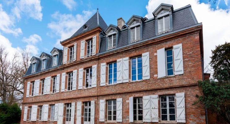 Pin-Balma : programme immobilier à rénover « Château du Pin » en Déficit Foncier