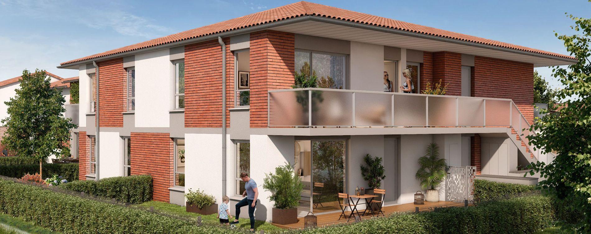 Pins-Justaret : programme immobilier neuve « Domaine du Hautmont »