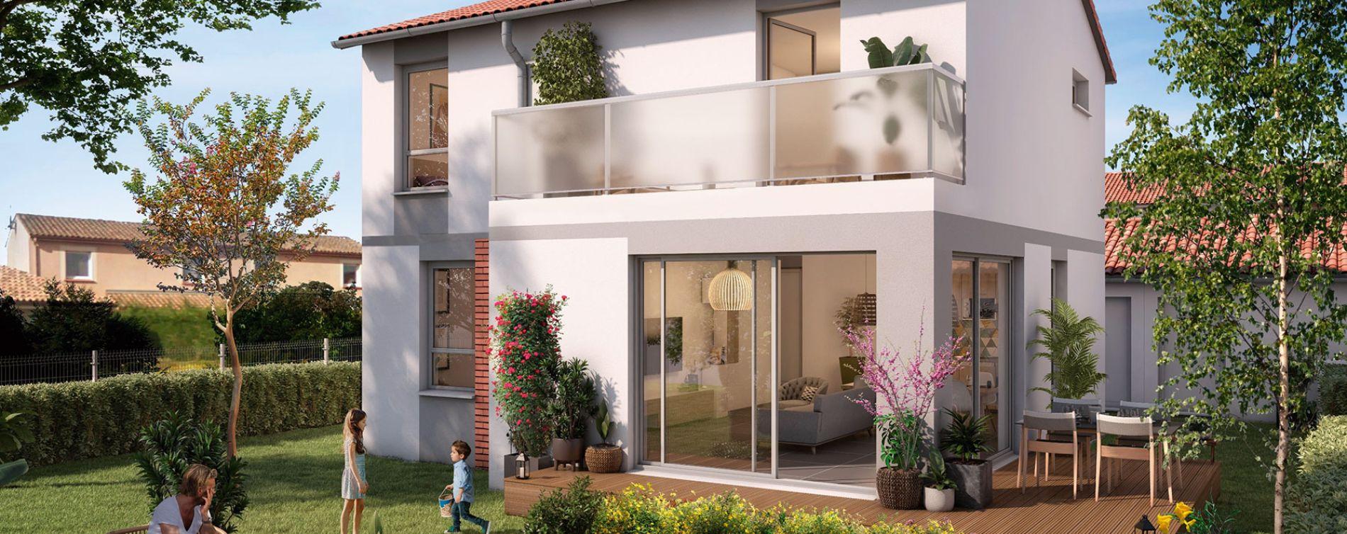 Pins-Justaret : programme immobilier neuve « Domaine du Hautmont » (2)