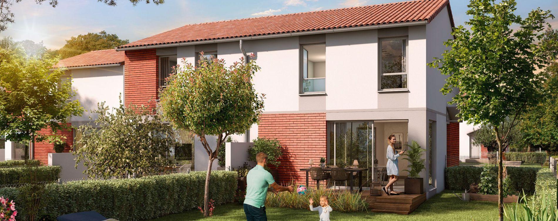 Pins-Justaret : programme immobilier neuve « Domaine du Hautmont » (3)