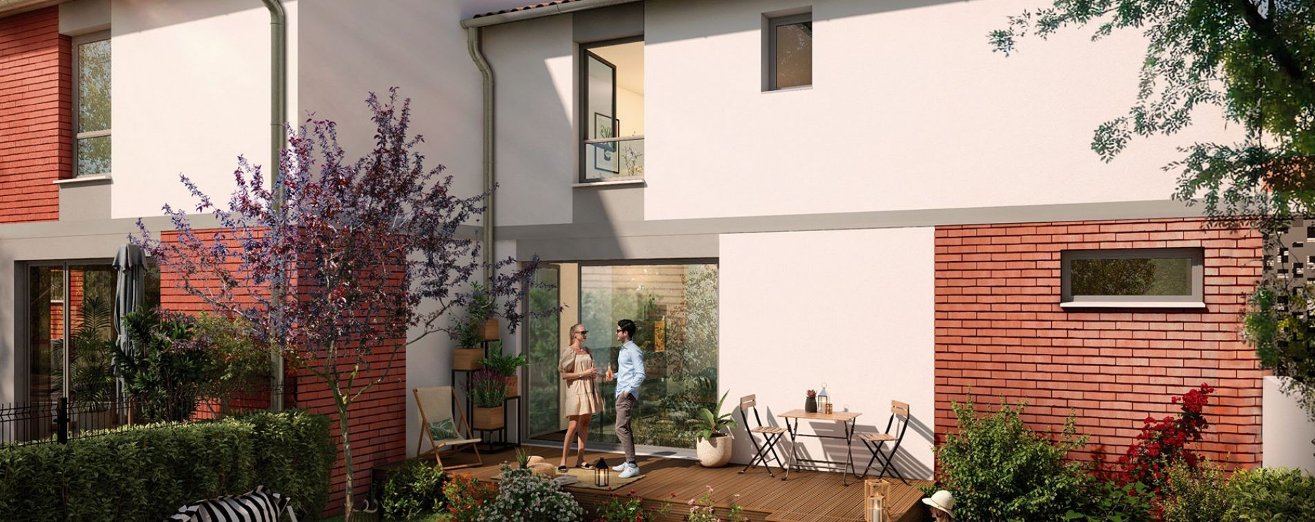 Pins-Justaret : programme immobilier neuve « Domaine du Hautmont » (4)