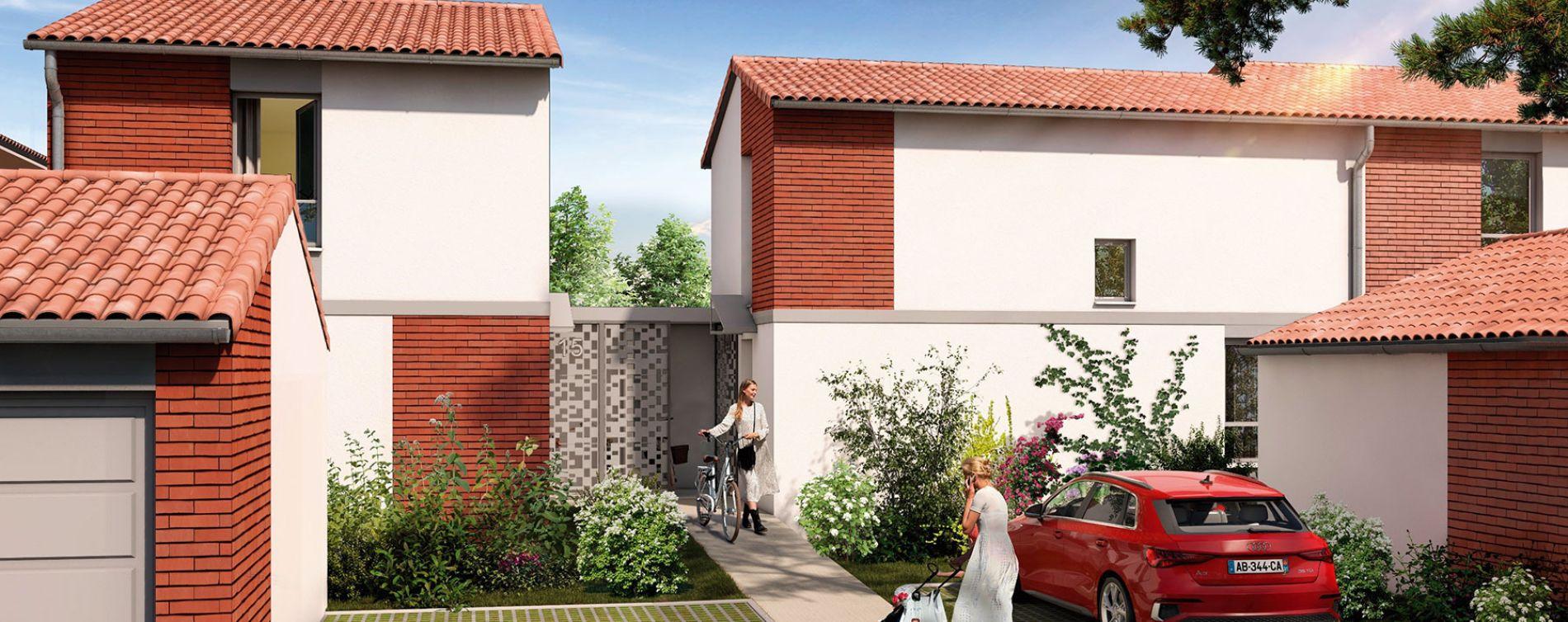 Pins-Justaret : programme immobilier neuve « Domaine du Hautmont » (5)