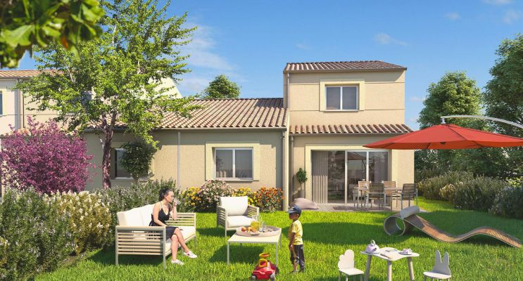 Photo du Résidence « Les jardins de Cassiopée » programme immobilier neuf en Loi Pinel à Pins-Justaret