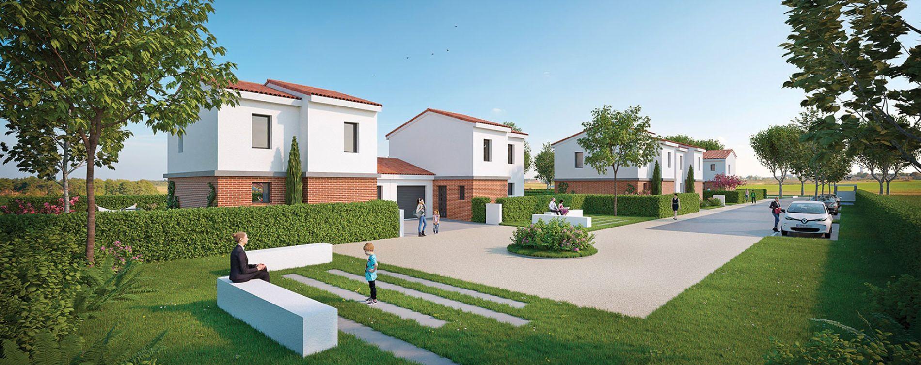 Plaisance-du-Touch : programme immobilier neuve « Résidence Saint Nicolas » (2)