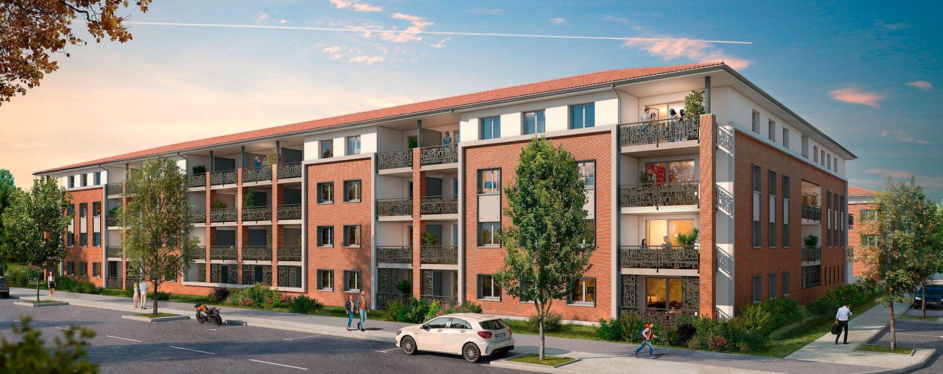 Plaisance-du-Touch : programme immobilier neuve « Sylvia 2 » en Loi Pinel