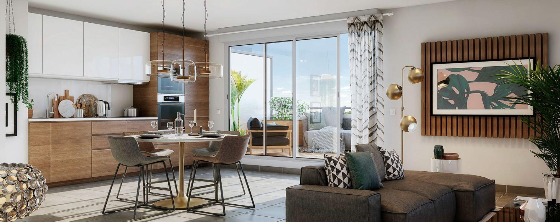 Plaisance-du-Touch : programme immobilier neuve « Sylvia 2 » en Loi Pinel (2)