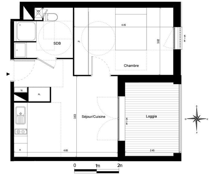 Appartement t2 quint fonsegrives n 745 est for Chambre d agriculture haute corse