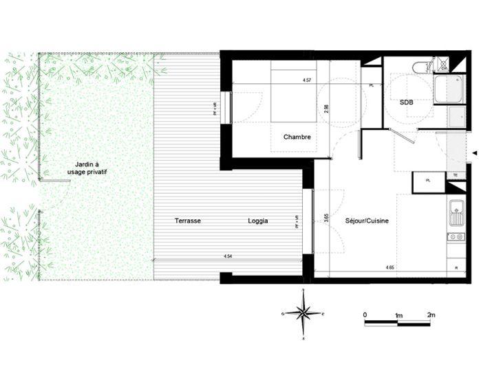 Appartement t2 quint fonsegrives n 757 ouest for Chambre d agriculture haute garonne