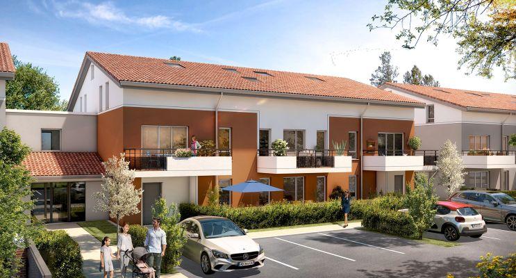 Photo du Résidence « L'Orée des Lacs » programme immobilier neuf à Roques