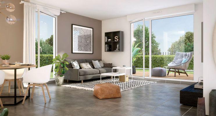 Résidence « Val Flora » programme immobilier neuf en Loi Pinel à Saint-Alban n°2