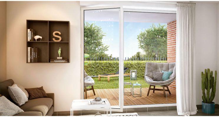 Résidence « Val Flora » programme immobilier neuf en Loi Pinel à Saint-Alban n°3