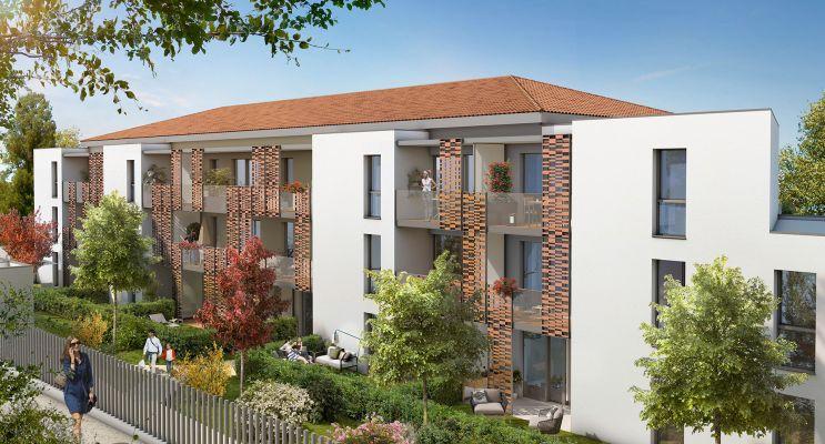 Photo du Résidence « Calzéa » programme immobilier neuf en Loi Pinel à Saint-Orens-de-Gameville
