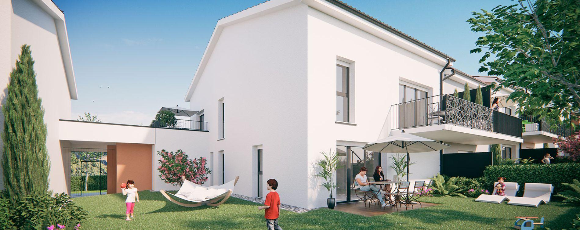Saint-Orens-de-Gameville : programme immobilier neuve « Les Terrasses de Saint Orens » en Loi Pinel