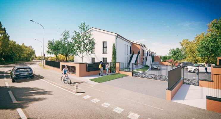 Résidence « Les Terrasses De Saint Orens » programme immobilier neuf en Loi Pinel à Saint-Orens-de-Gameville n°2