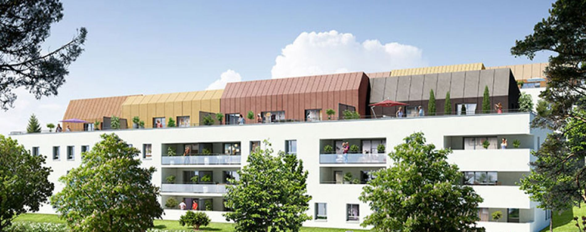 Les terrasses de saint 39 o saint orens de gameville programme immobilier neuf n 212004 - Piscine saint orens de gameville ...