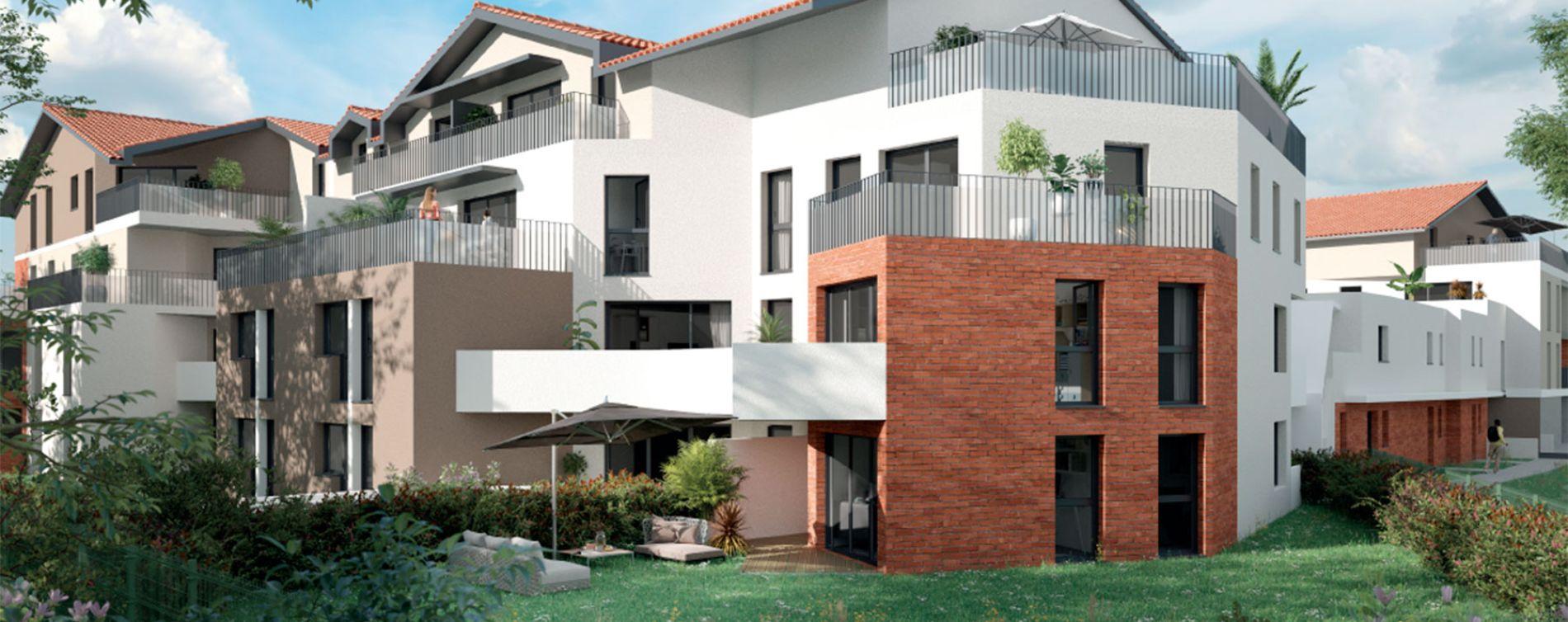 Saint-Orens-de-Gameville : programme immobilier neuve « Origin' » en Loi Pinel (2)