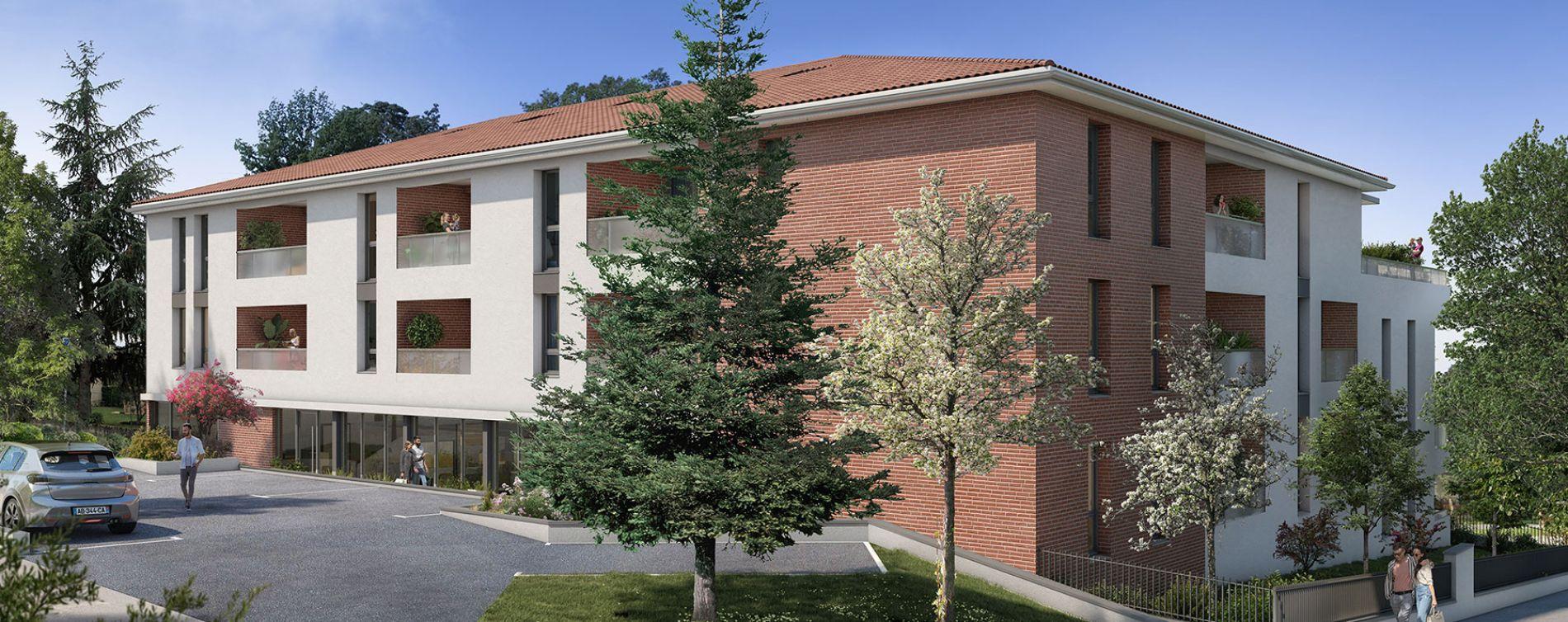 Saint-Orens-de-Gameville : programme immobilier neuve « Sainto Vista » en Loi Pinel (2)