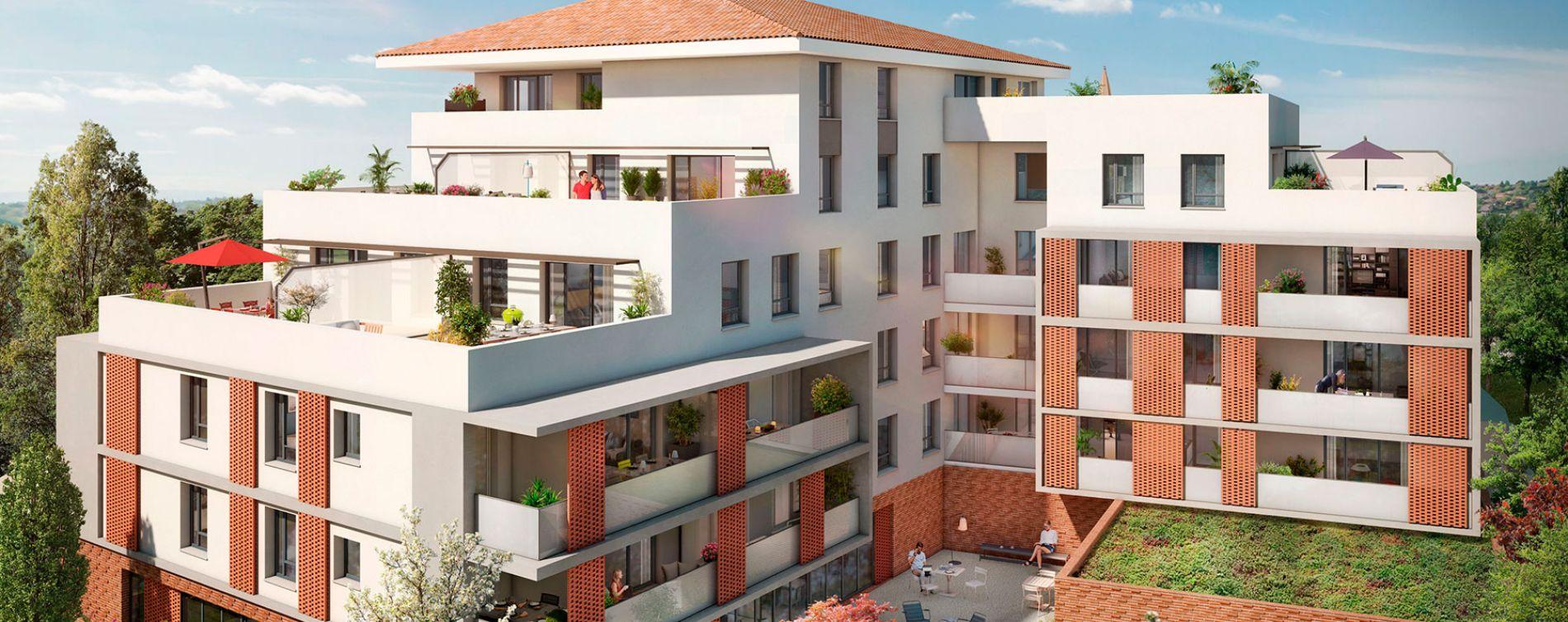 Saint-Orens-de-Gameville : programme immobilier neuve « Toscani » en Loi Pinel (4)
