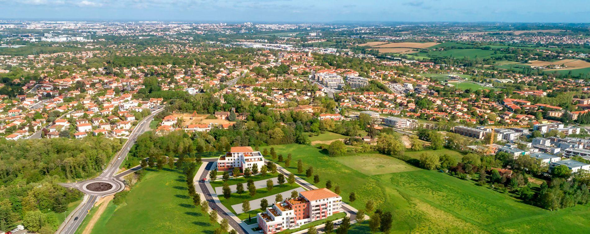 Saint-Orens-de-Gameville : programme immobilier neuve « Toscani » en Loi Pinel (5)