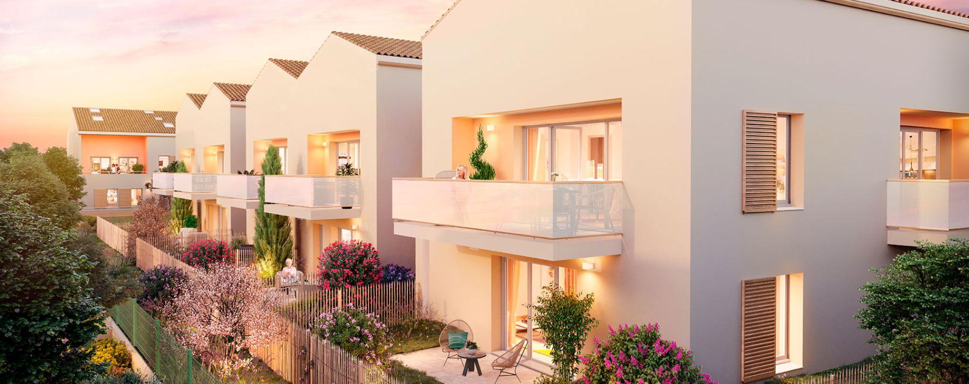 Toulouse : programme immobilier neuve « 126 Garden » en Loi Pinel