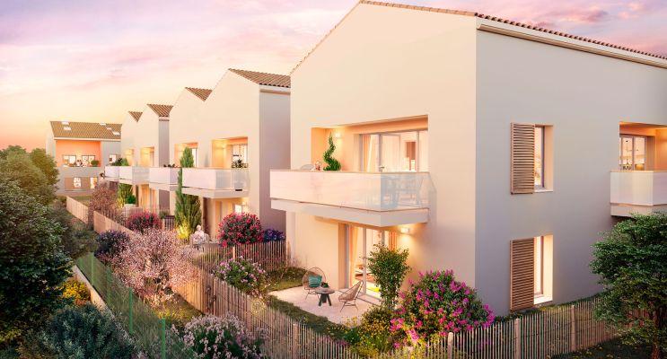 Toulouse : programme immobilier neuf « 126 Garden » en Loi Pinel