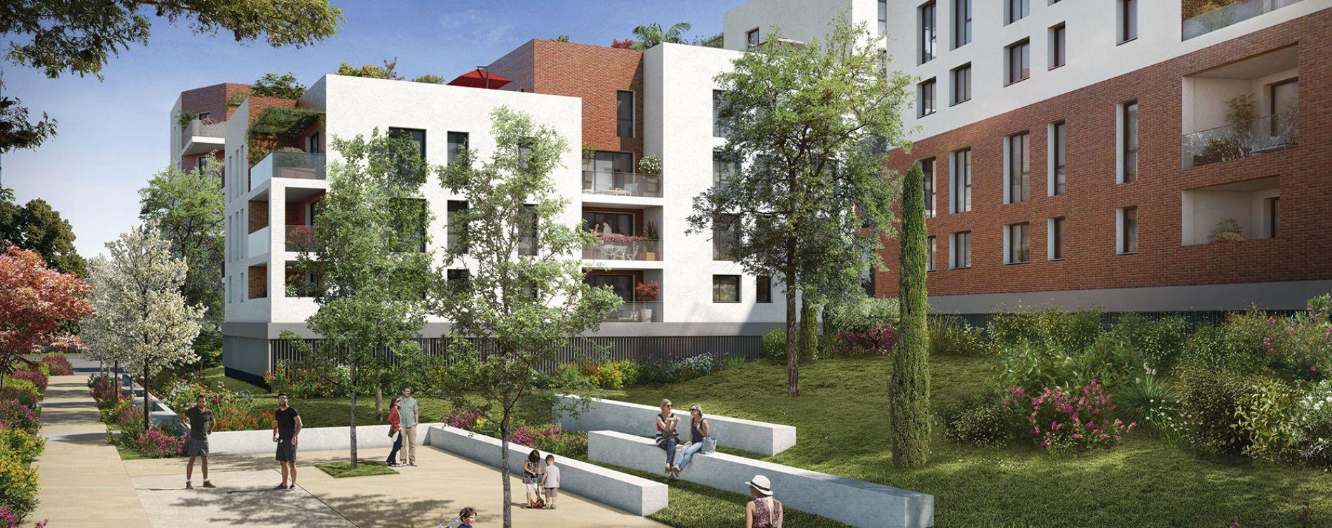 Toulouse : programme immobilier neuve « 252 Faubourg 2 »