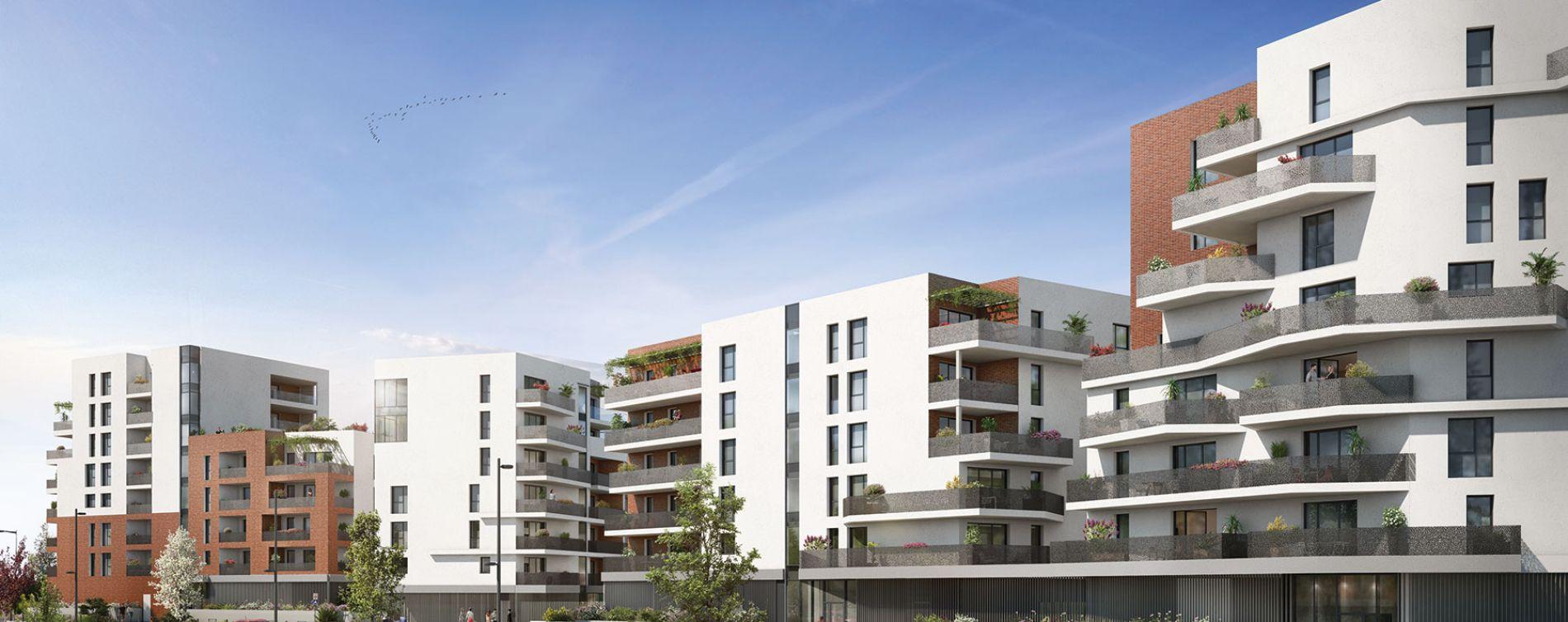 Toulouse : programme immobilier neuve « 252 Faubourg 2 » (3)