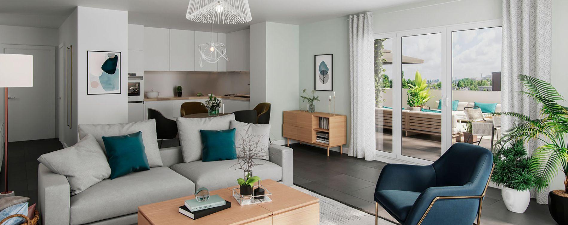 Toulouse : programme immobilier neuve « 252 Faubourg 2 » (4)