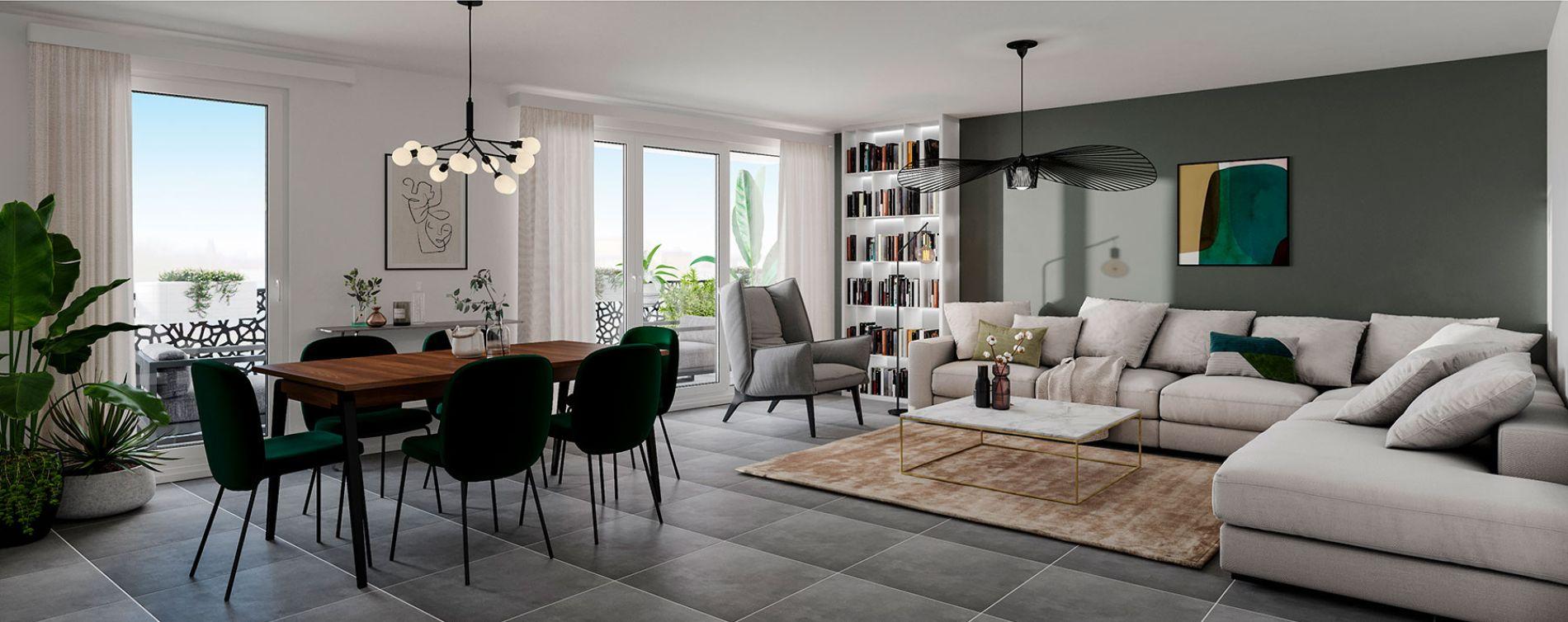 Toulouse : programme immobilier neuve « 252 Faubourg 2 » (5)