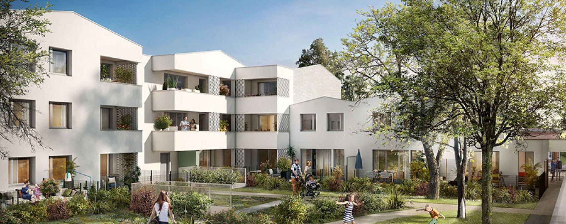 Toulouse : programme immobilier neuve « Aktue'L Accession Maîtrisée » (2)