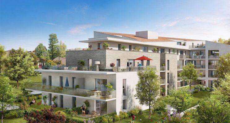Résidence « Allurea » programme immobilier neuf en Loi Pinel à Toulouse n°2