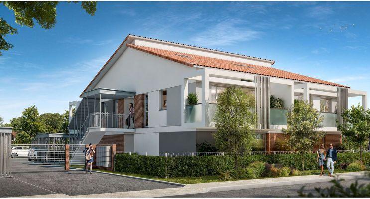 Résidence « Azéria » programme immobilier neuf en Loi Pinel à Toulouse n°1