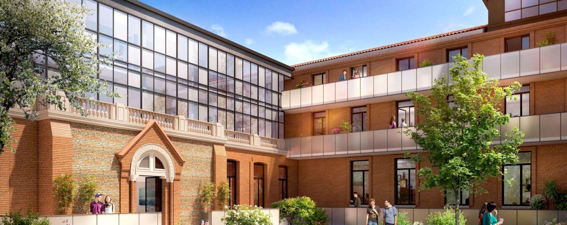 Résidence Campus Saint-Michel à Toulouse