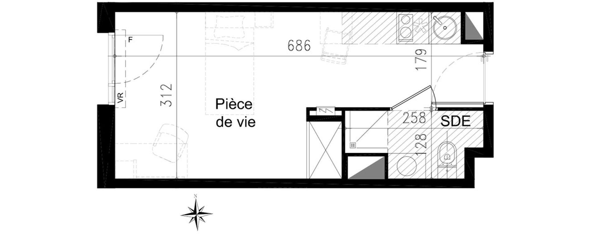 Plan T1 neuf à Toulouse de