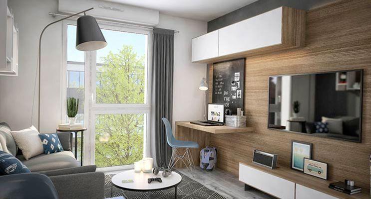 Résidence « Campus Saint-Michel » programme immobilier neuf à Toulouse n°5