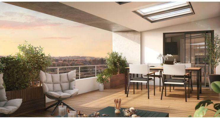 Résidence « Carré Flavia » programme immobilier neuf en Loi Pinel à Toulouse n°2
