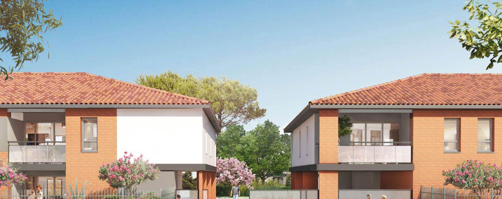 Toulouse : programme immobilier neuve « Closerie Saint-Simon »