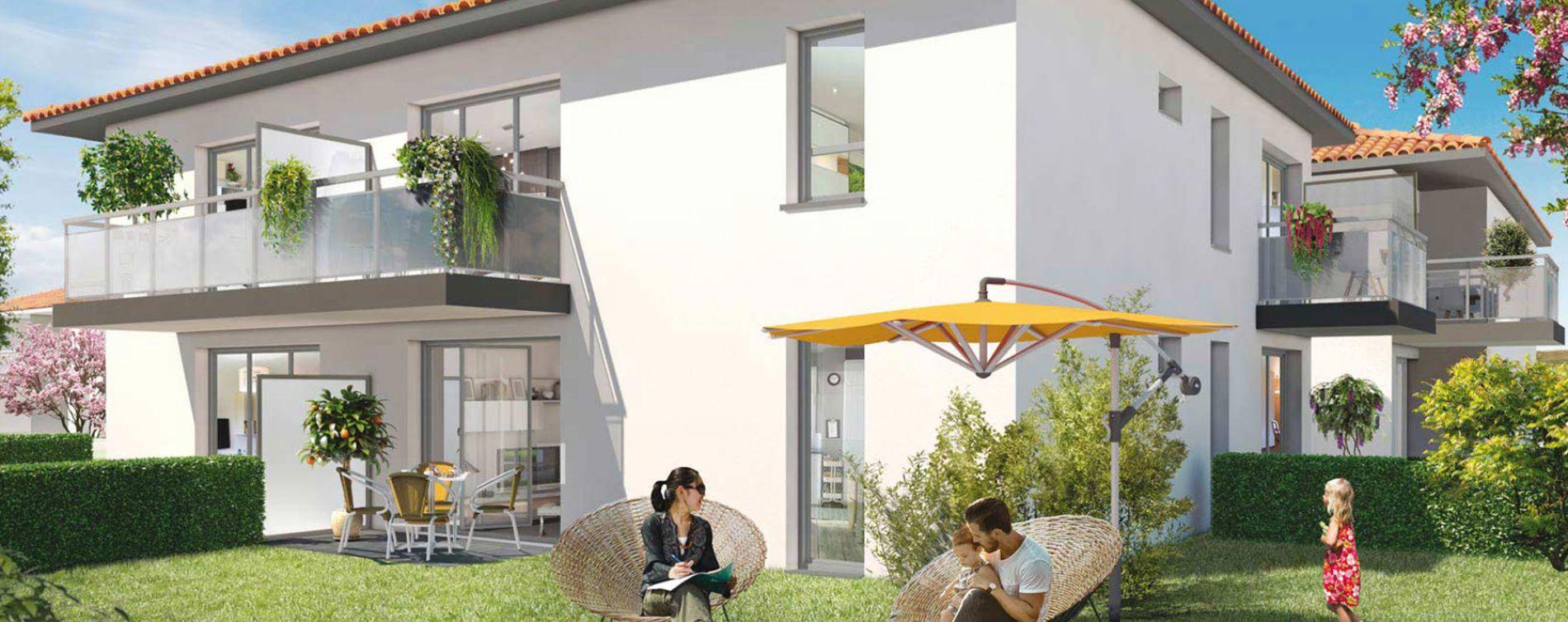 Toulouse : programme immobilier neuve « Closerie Saint-Simon » (2)