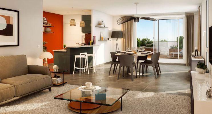Résidence « Coeur Floréal » programme immobilier neuf en Loi Pinel à Toulouse n°1