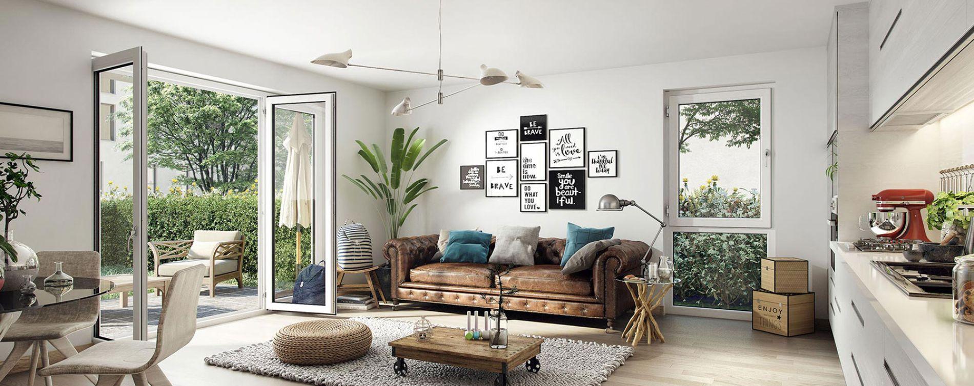 Toulouse : programme immobilier neuve « Cosy » en Loi Pinel (3)