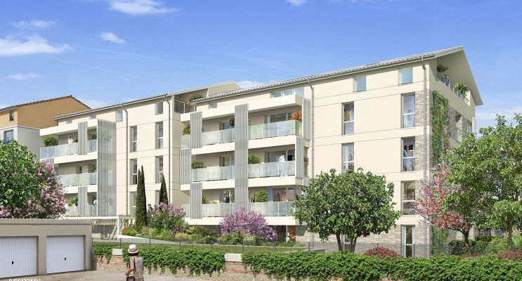 Toulouse : programme immobilier neuf « Cosy » en Loi Pinel