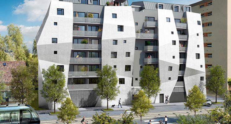 Toulouse : programme immobilier neuf « Côté Garonne » en Loi Pinel